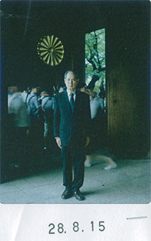 終戦の日に靖国神社に参拝した閣僚と政治 ...
