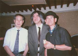 鈴木義昭さん、御木平輔さん 鈴木義昭さん、御木平輔さん この日は、午後に仙台に着き、兄貴の家に行
