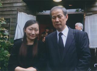 仁藤夢乃さんと 仁藤夢乃さんと 永田喜嗣さんは、ジョン・ラーベ研究家。日本で一番、ジョン・ラーベ